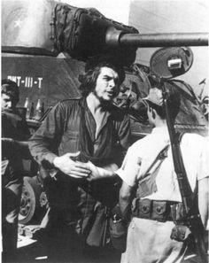 Che Guevara, at the battle of Santa Clara, 1958