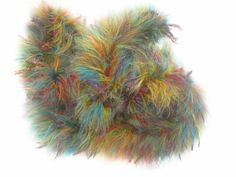 Noro Yarn Super Feather Boa Luxury Trim Color 3 Multi 2 Sks Great Deal #Noro #HandDyed