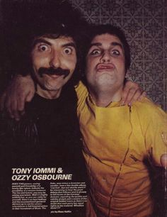 Tony and Ozzy, flying high!