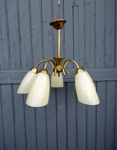 A Five Lamp Mid Century Modern Mad Men Style By Frenchidyll
