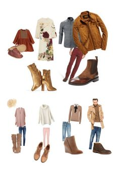 """""""Fall Families"""" by earthdarling on Polyvore featuring Valentino, Gianvito Rossi, Bugatchi, Superdry, Antonio Maurizi, Accessorize, Balenciaga, Current/Elliott, L.K.Bennett and Claudie Pierlot"""