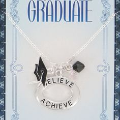 Assorted Sterling Silver Graduation Pendant Necklaces $5.99, FREE SHIPPING!!! :)
