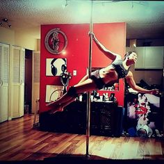 Throwback to poling in the condo days.