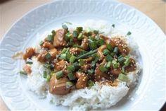 Spicy Chicken & Cashews