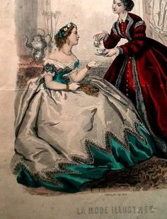 1860's ballgown(lotsapicturesandavideo!) - CLOTHING