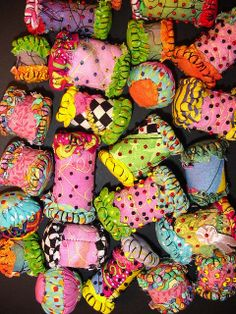 Alma Stoller: inside my Handmade Fabric Beads workshop