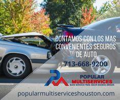 Tu carro asegurado con nosotros te brinda tranquilidad en el camino. Houston, Popular, Life Insurance, Trucks, Autos, Popular Pins, Folk, Most Popular
