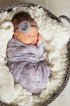 newborn baby girl. lace. hair bow. newborn Heartstrings Photography by Heather: January 2014