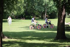 A great place for cycling, jogging, badminton, and other outdoor sports.