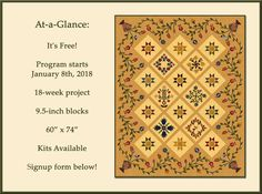 Stars Over Baltimore BOW Program - Piecing the Past Quilts
