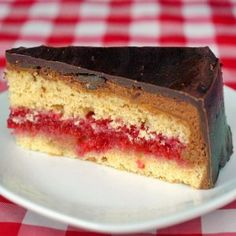 Raspberry-Orange Chocolate Buttercream Torte - Rock Recipes - Rock Recipes