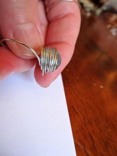 Cute Wire Ring Tutorial