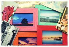 Cuadritos de madera - pintados - con o sin foto