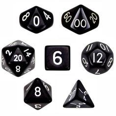 7 Die Polyhedral Dice Set - Solid Black with Velvet Pouch... https://www.amazon.com/dp/B00BR3UGD0/ref=cm_sw_r_pi_dp_ilDCxbGP1AE9B