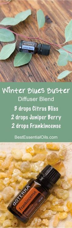 Winter Blues Buster doTERRA Diffuser Blend