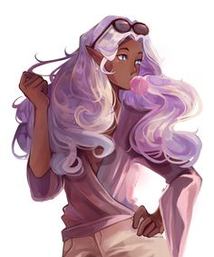 "phaisty: "" Allura is really digging Earthling fashion ""Speedpaint + Painting Tutorial "" """