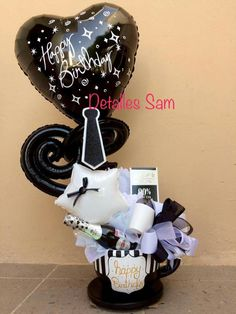 Cumpleaños Balloon Box, Balloon Gift, Balloon Flowers, Balloon Bouquet, Valentine Decorations, Balloon Decorations, Birthday Party Decorations, Gift Bouquet, Candy Bouquet