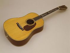 1933 Martin custom D-45 guitar owned by cowboy star Gene Autry....