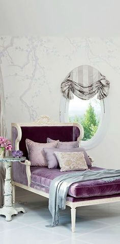 I have a window like that in my bedroom, and i like the little valance they put on it..may have to steal this idea
