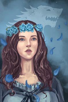 Lyanna Stark|Game of thrones by Nozomi-Art on deviantART