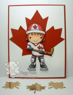 Oh Canada! E Cards, Kids Cards, Canada Images, Canada Day, Treat Bags, Nativity, Card Making, Messages, How To Make