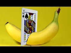 ONLY 1% OF PEOPLE KNOW THE SECRETS OF THESE MAGIC TRICKS - BANANA and CARD MAGIC TRICK - YouTube