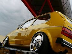 VW Golf Mk1 Mellow... - Yellow Car