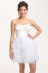 New twist on the classic white dress!