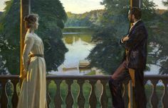 Richard Bergh.     Nordic Summer Evening