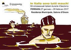 Ferrara: In Italia sono tutti maschi in mostra le tavole del graphic novel di Luca De Santis e Sara Colaone