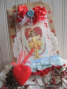 vintage valentine bagLARGE CANDY BAGgift by cherrysjubileecards, $5.50 My Funny Valentine, Valentine Bingo, Saint Valentine, Valentine Ideas, Vintage Valentines, Valentine Crafts, Altered Books, Altered Art, Valentine's Cards For Kids