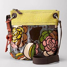 In general I hate carrying purses but I keep seeing these crazy print purses and I  kinda like them--especially if it's nice and small like this...