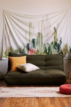 Cactus Landscape Tapestry