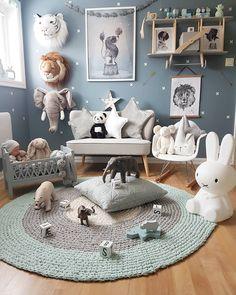 ✖ B o y s r o o m ✖ Sofa fra Kids Concept , Pute fra Cam Cam og Jellycat pandaen finner dere hos 💙 Ønsker dere en fin uke😙… Baby Bedroom, Baby Boy Rooms, Nursery Room, Kids Bedroom, Playroom Decor, Baby Room Decor, Pretty Bedroom, Home, Warm Colours