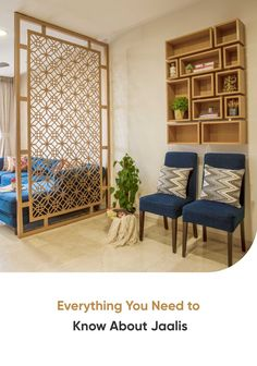 We all love jaali designs. But do you know what goes into making a jaali pattern? Find out everything you need to know about jaalis here. Wooden Partition Design, Living Room Partition Design, Room Partition Designs, Living Room Tv Unit Designs, Room Door Design, Wall Decor Design, Home Room Design, Flat Interior, Apartment Interior