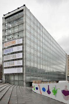 Paris, Institut du Monde Arabe. Jean Nouvel