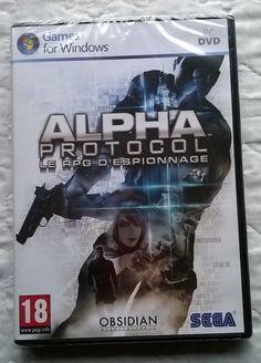 Game for Windows - SEGA - ALPHA protocol - RPG espionnage ( neuf )