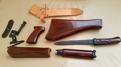 VZ58 CZ 858 Original Wooden Furniture KIT With Hardware AND Bayonet | eBay