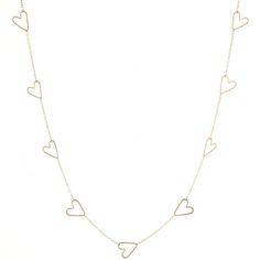jane hollinger heart necklace