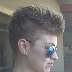 Mohawk! Females can rock it too!