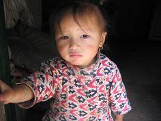 Little Sherpa girl, Khumbu Nepal.