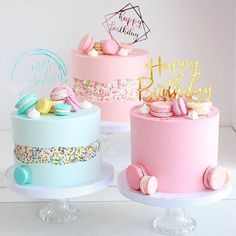 Cute Birthday Cake Ideas For Kids And teenagers - Cocomew is to share cute outfi. - Cute Birthday Cake Ideas For Kids And teenagers – Cocomew is to share cute outfi… Girly Birthday Cakes, 14th Birthday Cakes, Elegant Birthday Cakes, Girly Cakes, Birthday Cakes For Teens, Beautiful Birthday Cakes, Girl Birthday, Pink Cakes, Women Birthday