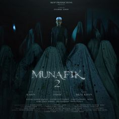 Munafik 2 poster, t-shirt, mouse pad 2018 Movies, 2 Movie, Relationship, Actresses, Actors, Black And White, Studio, Film, Canvas