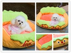 Hot Dog Sofa Pet Bed with Removable Washable Pet Mat, How to, how to do, diy instructions, crafts, do it yourself, diy website, art project ideas