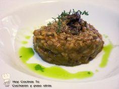 Hoy Cocinas Tú: Risotto de rabo de toro