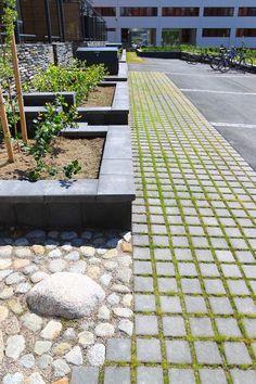 Ideakuvat | Rudus Paving Stones, Sidewalk, Golf, Garden, Garten, Side Walkway, Lawn And Garden, Walkway, Gardens
