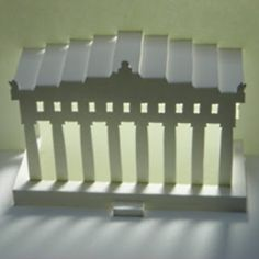 Tektonten Papercraft - Free Papercraft, Paper Models and Paper Toys: Parthenon Paper Pop-up
