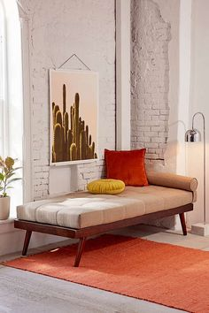 Urban Outfitters Alessa Daybed, Cushion + Pillow Set