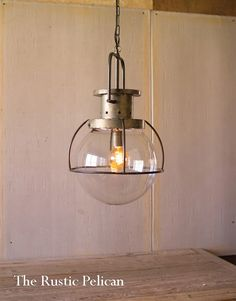 Sale-Large-Modern-Coastal-Nautical-Beach-Decor-Glass-Chandelier-Free-Shipping - The Rustic Pelican Cage Pendant Light, Rustic Pendant Lighting, Vintage Industrial Lighting, Pendant Light Fixtures, Chandelier Pendant Lights, Modern Chandelier, Chandeliers, Modern Lighting, Lighting Ideas