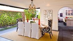 D for Design - Jasmine 2 - Dining Room - mediterranean - dining room - orange county - D for Design